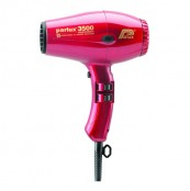 Parlux 3500 ceramic + ionic Hair Dryer Red